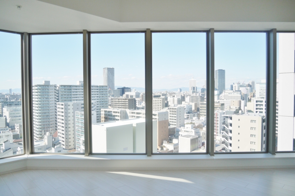タワーマンション 全面 窓